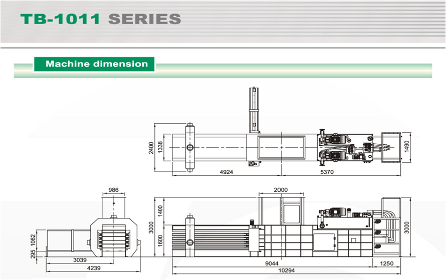 Stroj Dimension TB-1011 Series