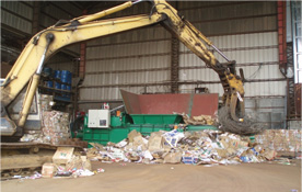 HOW TO FEED - . How to feed the waste material - Techgene Machinery Co., Ltd.